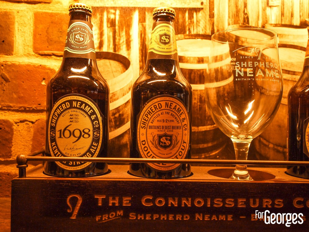 Bières Sheepherd Neame