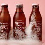 Une bière à boire sous la douche