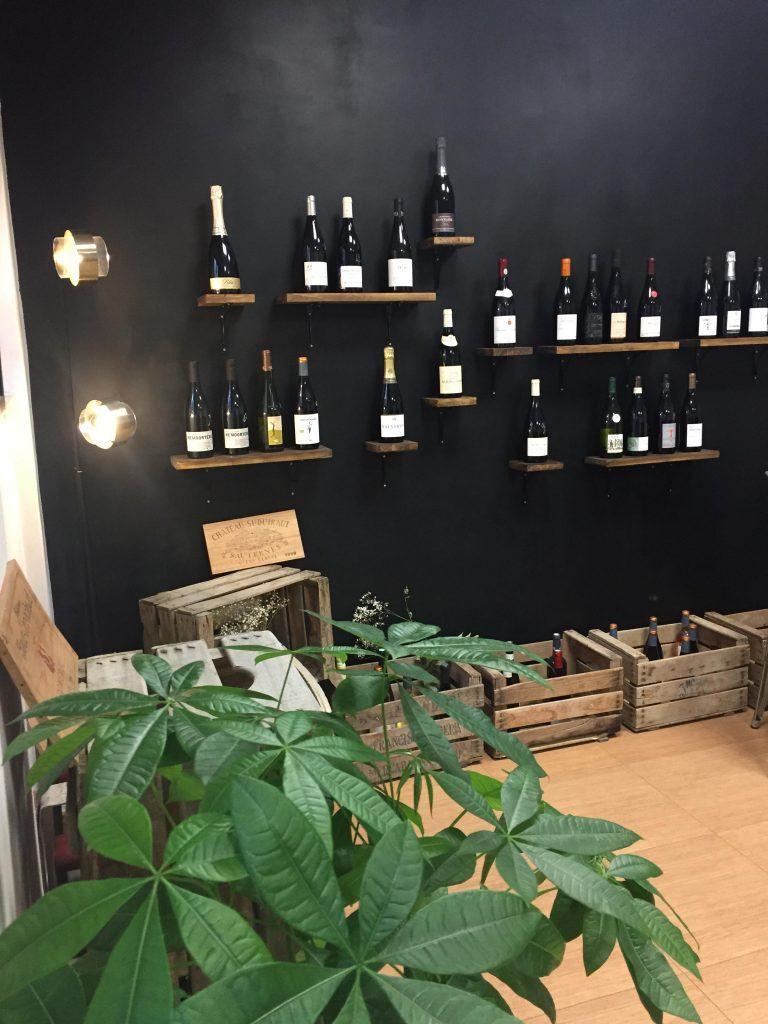Apopina cave à vin Madrid
