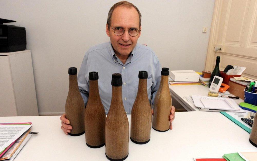 bouteille de vin écologique