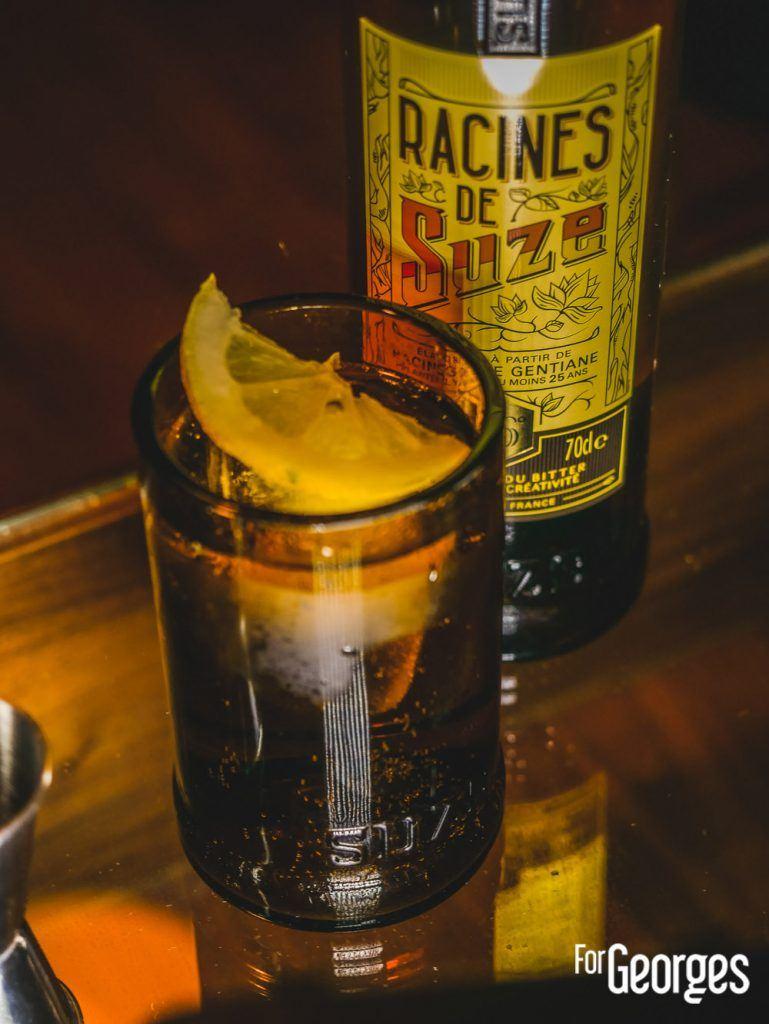 Racines de Suze cocktail