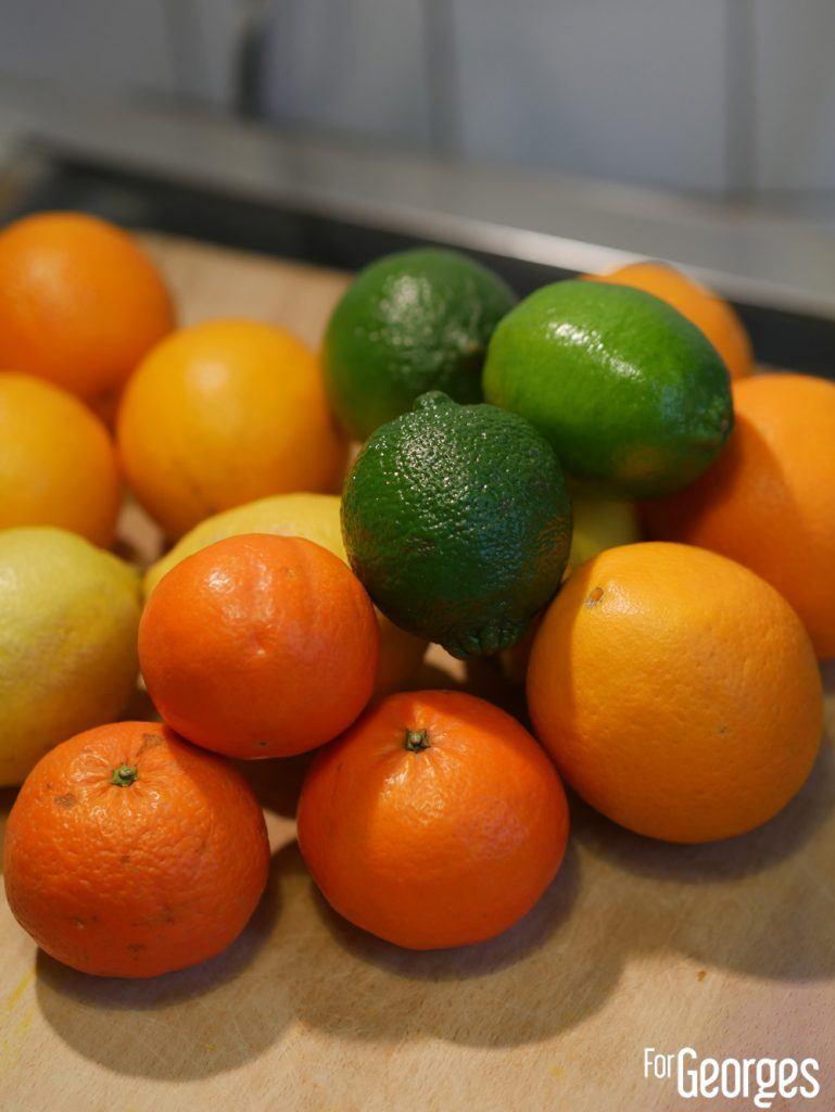 Fruits déshydratées (oranges désydrathées - citrons déshydratés)