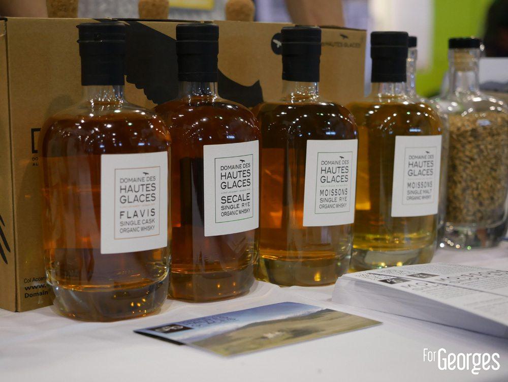 Domaine des hautes glaces - whisky bio