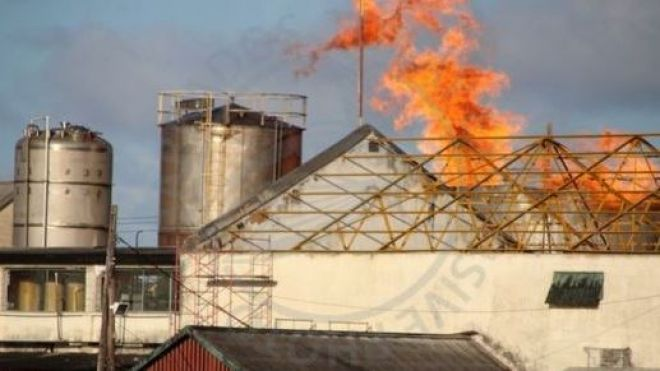 incendie Mount Gay distillerie
