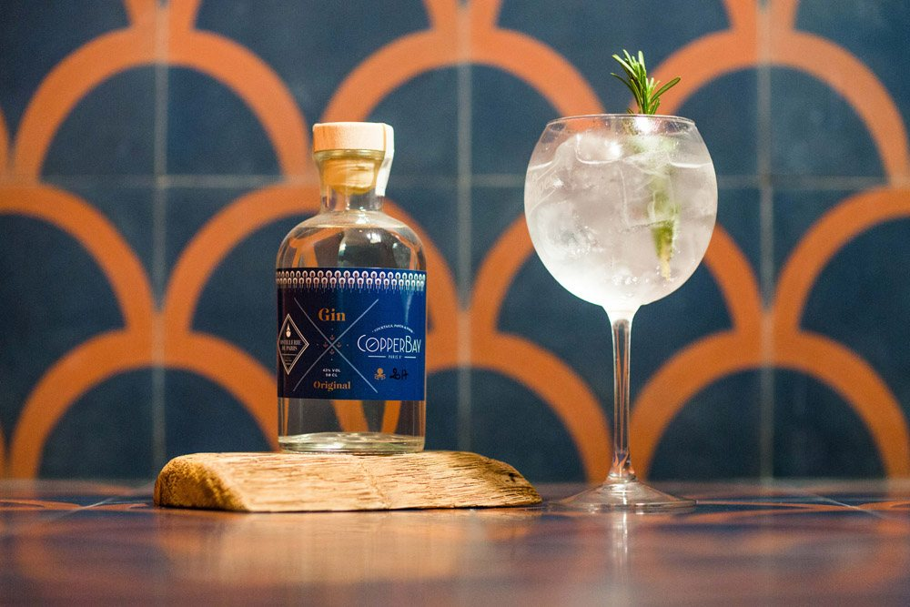 COPPERBAY Gin Tonic - ©Matthieu Joffres