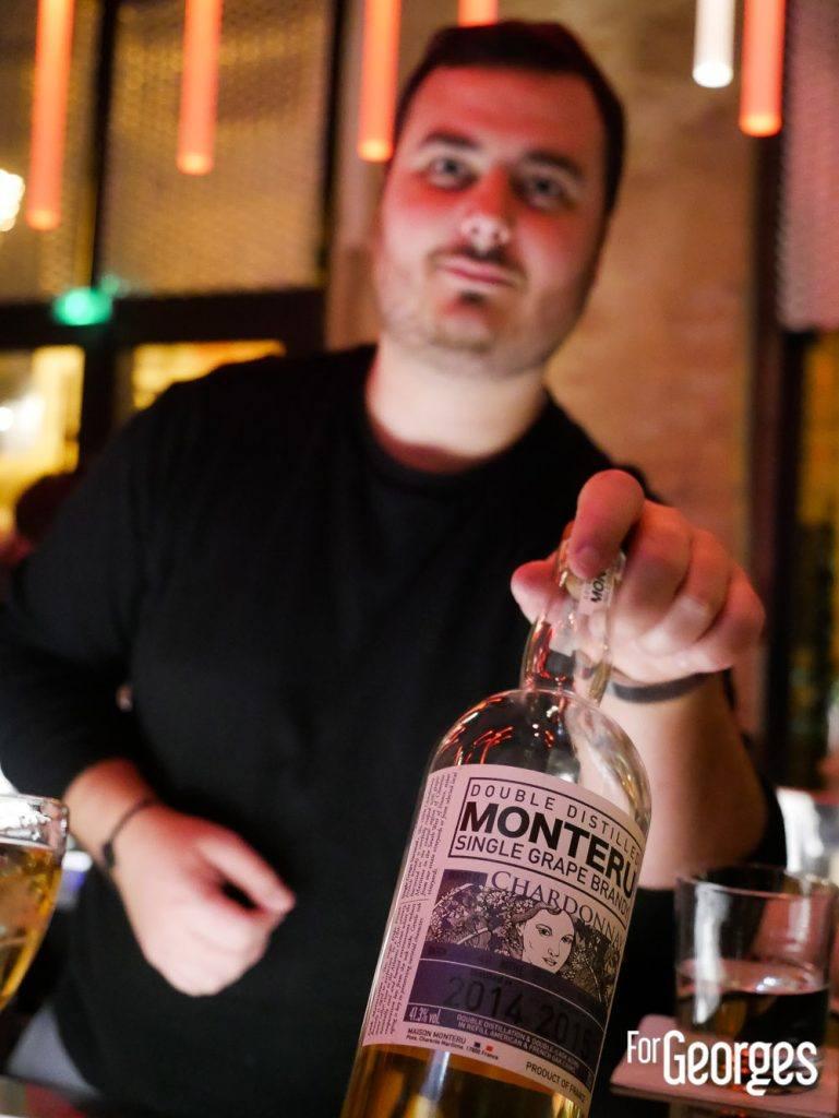 Remy Bataille bartender Aperture Montpellier