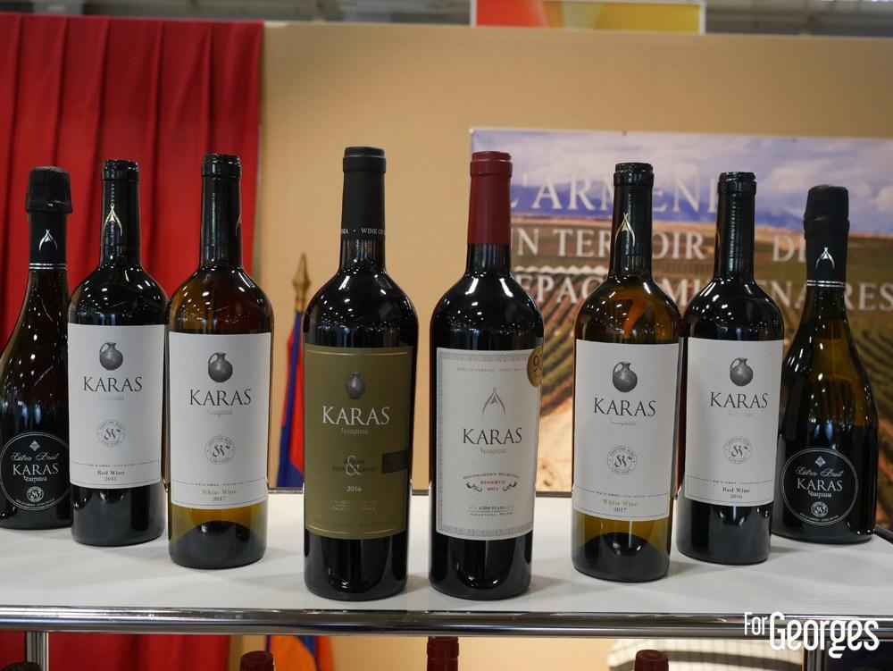Vin blanc arménien Karas