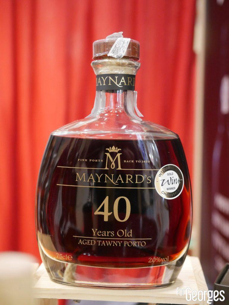 Porto Maynard's 40 ans