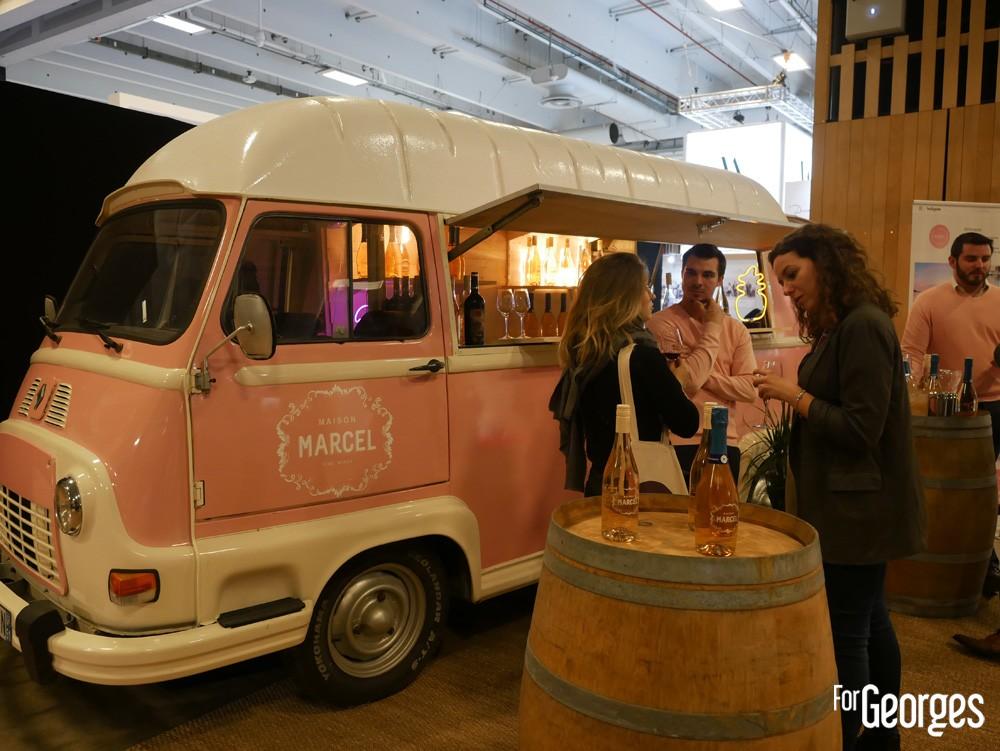 Truck Wine Maison Marcel