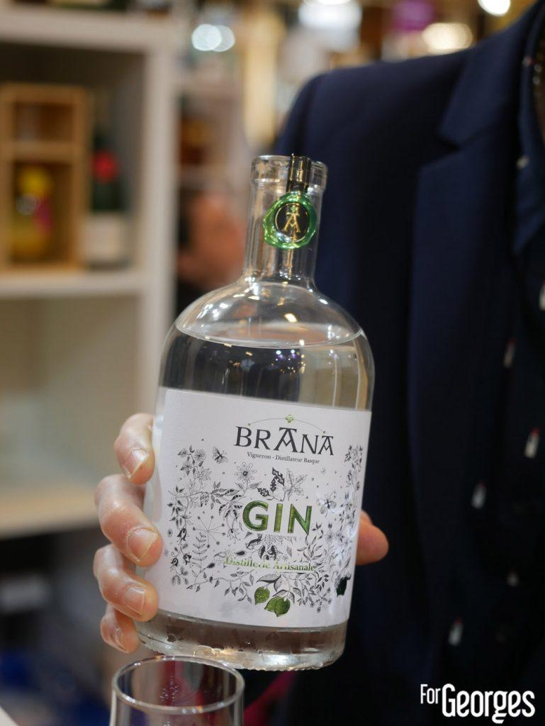 Gin citron vert Maison Brana
