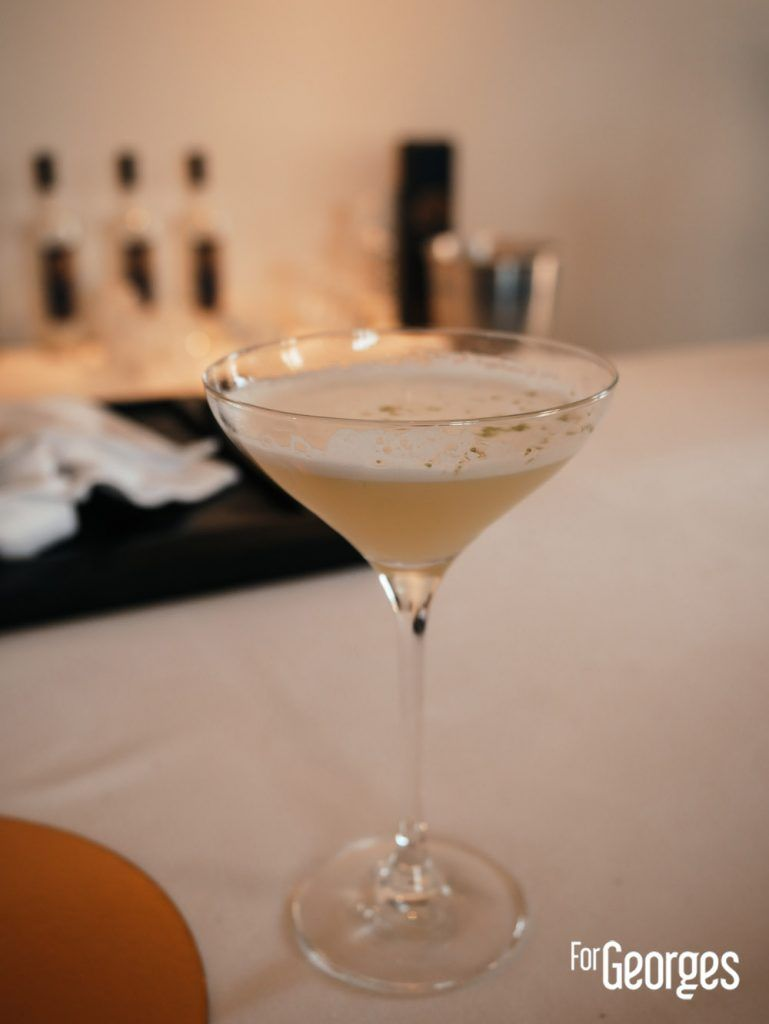 Vodka Nadé cocktail