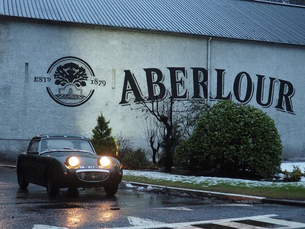 Distillerie Aberlour roadtrip