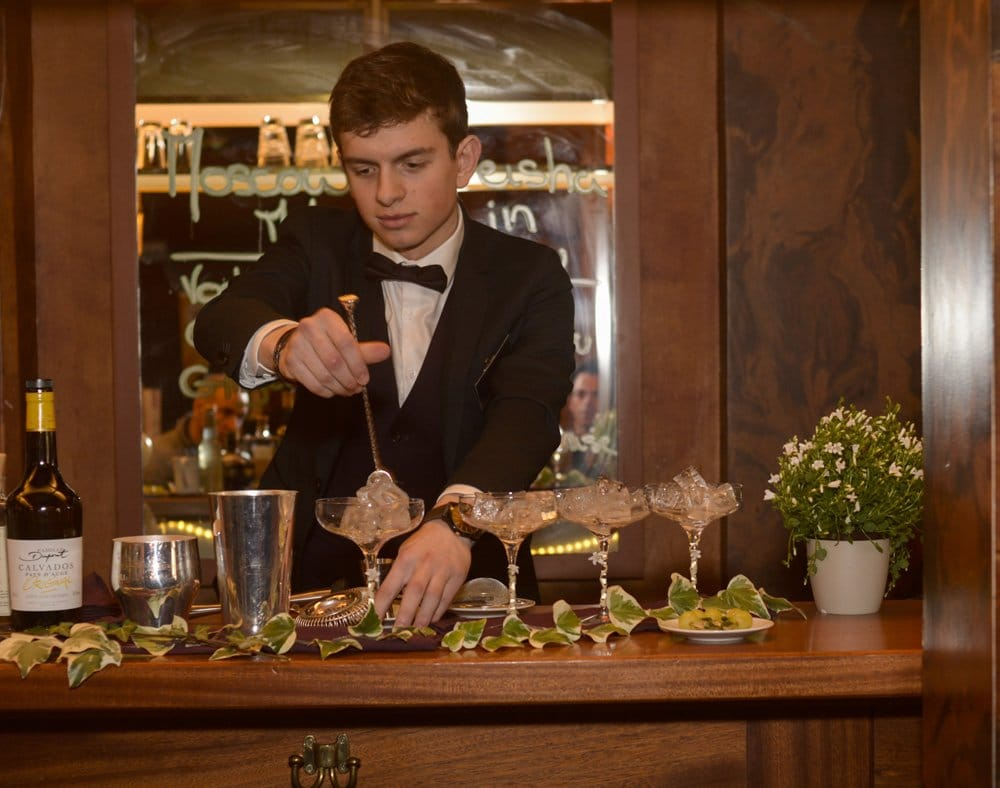 Martin Bécot barman cocktail