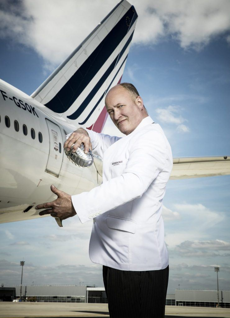 colin field calvados Air France