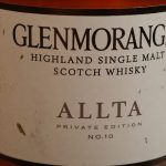 Glenmorangie Allta Private Edition No 10.