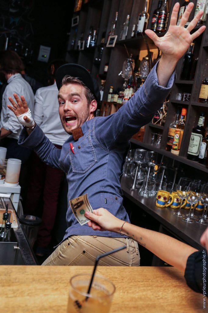 Patrick Le Verge barman