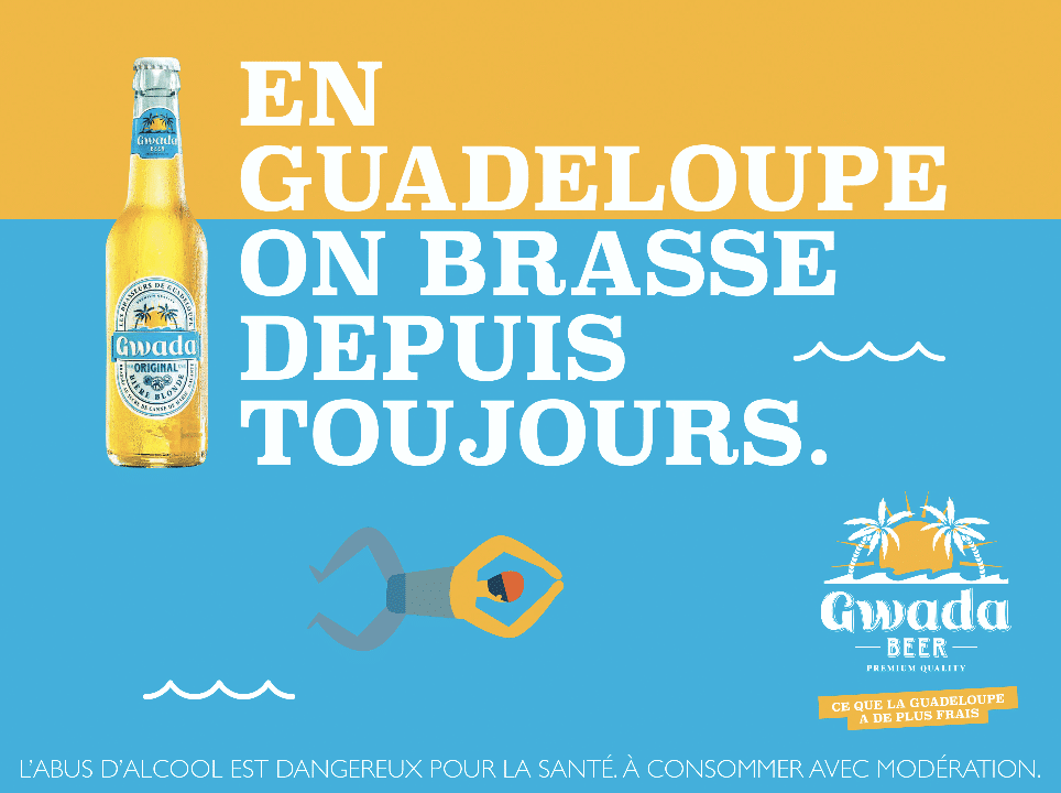Campagne print marque d'alcool
