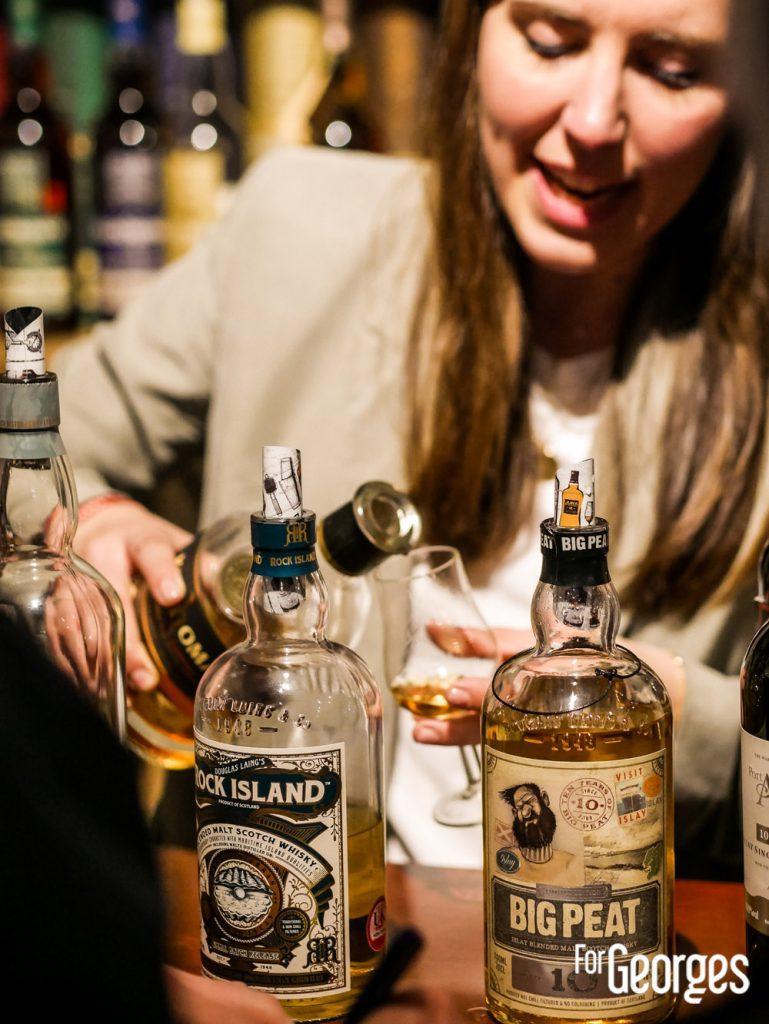 Dégustation Whisky La Maison par LMDW