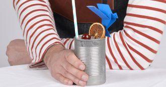 Cocktail au Calvados frais