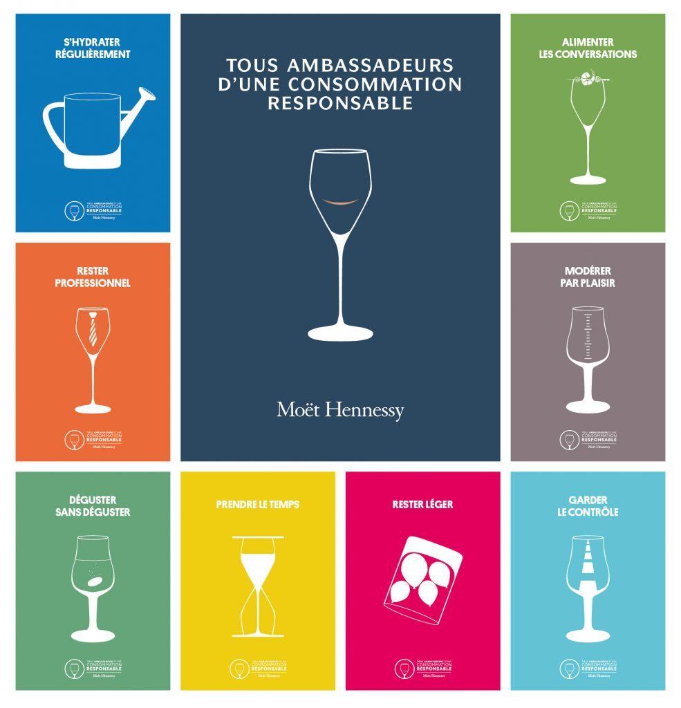 Tous ambassadeurs d'une Consommation Responsable Moët et Chandon