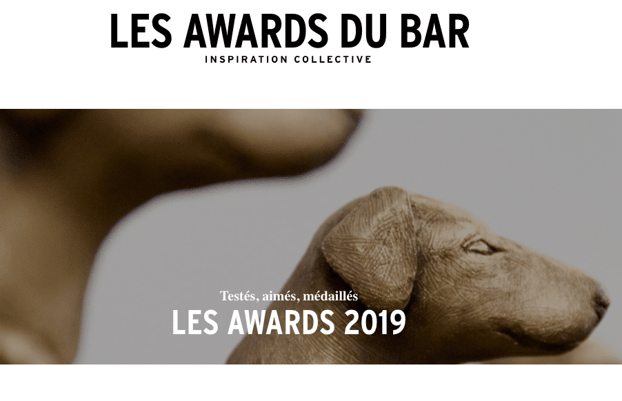 Les Awards du bar Cocktails Spirits 2019