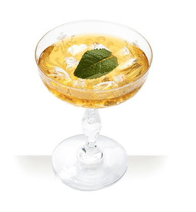 Stinger cocktail printemps