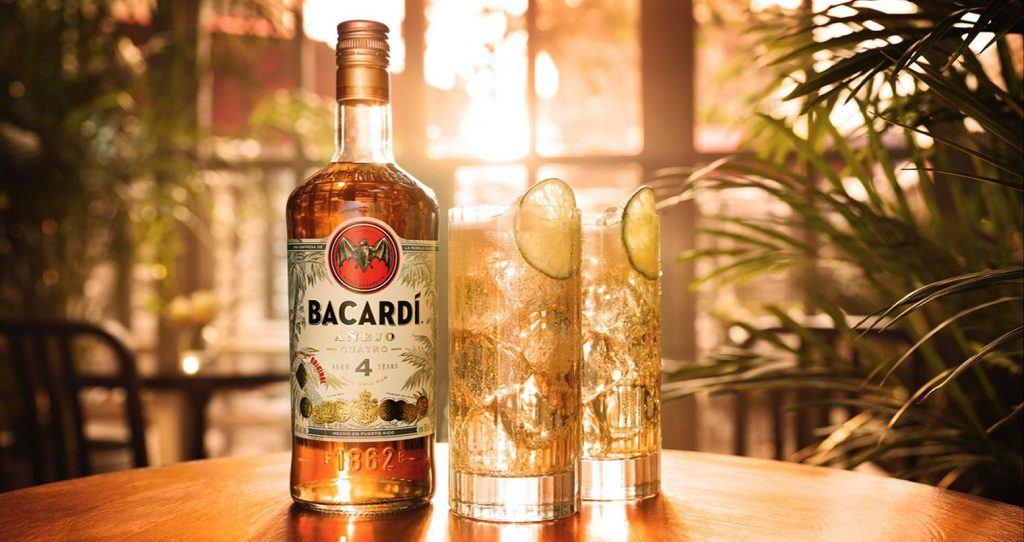Cocktail rhum Bacardi Highball