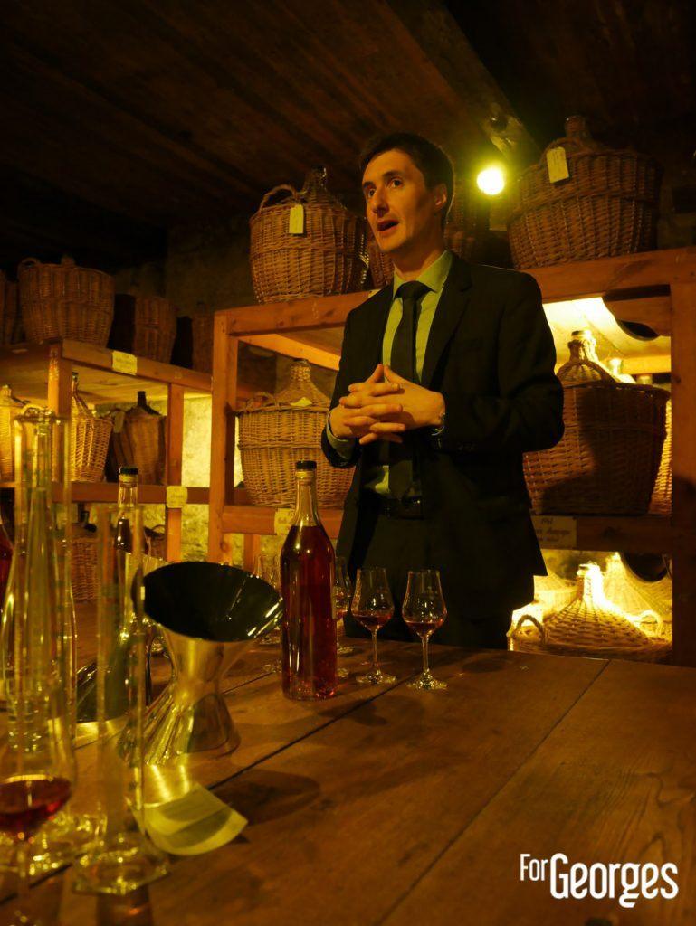 Christophe Valtaud maitre de chai Martell Cognac