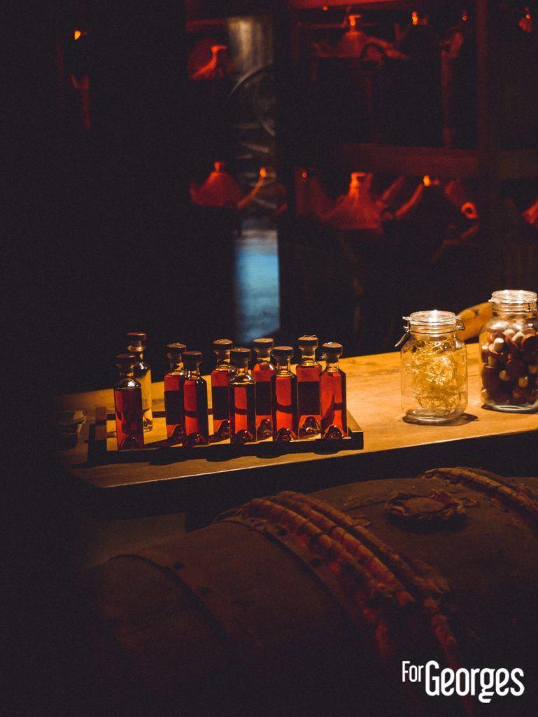Salle assemblage Martell cognac