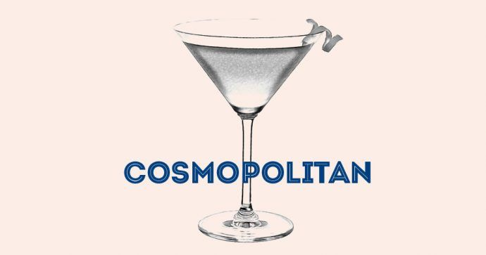 Recette cocktail Cosmopolitan