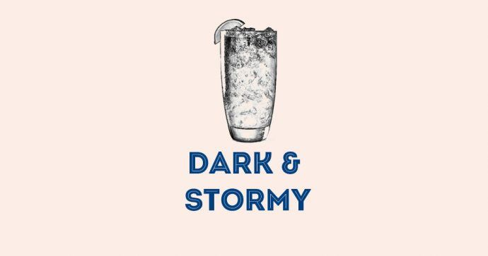 Dark And Stormy recette cocktail