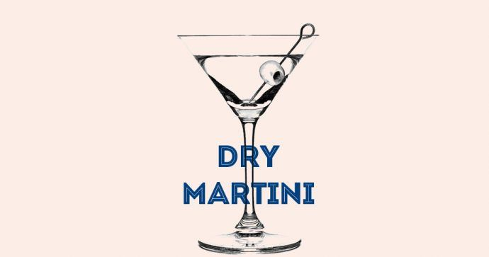 Dry Martini Recette cocktail