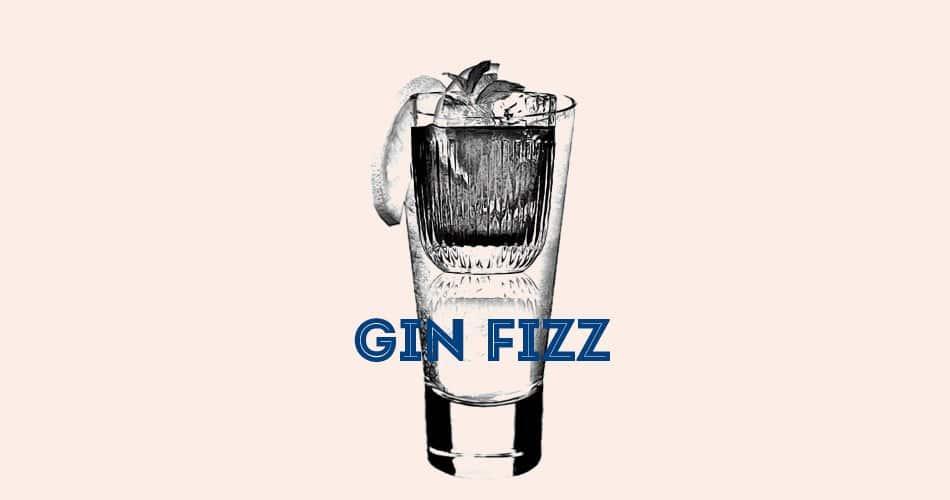 Recette cocktail du Gin Fizz