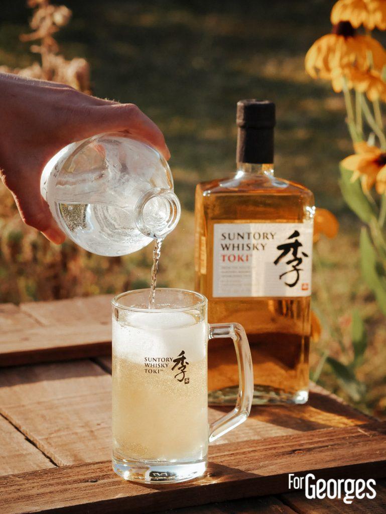 Recette highball whisky à base de toki whisky japonais
