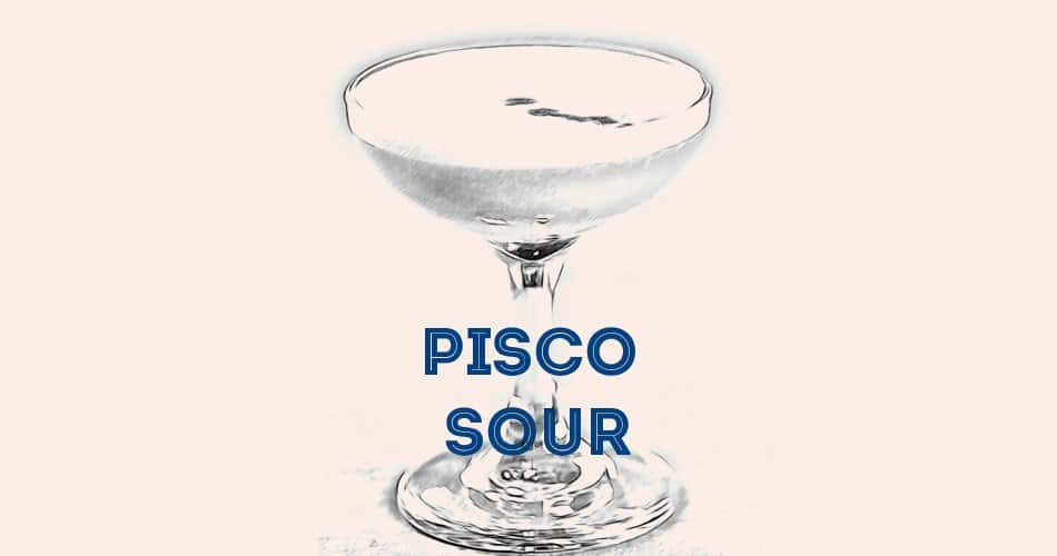 Recette Pisco Sour