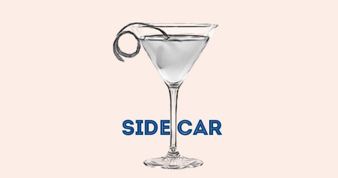 Recette Side Car Cocktail