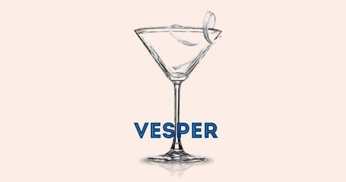 Vesper cocktail recette