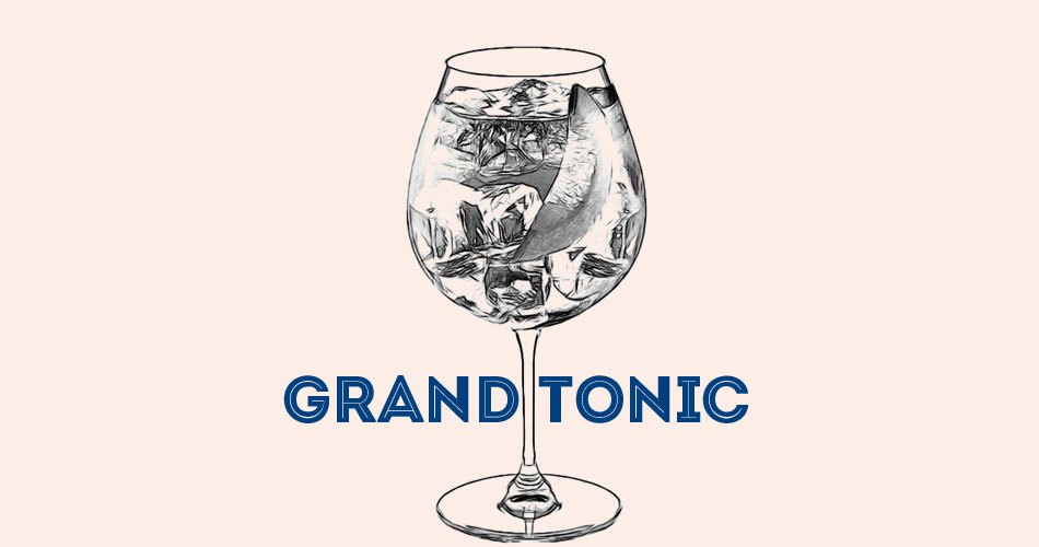 Grand Tonic cognac Cocktail