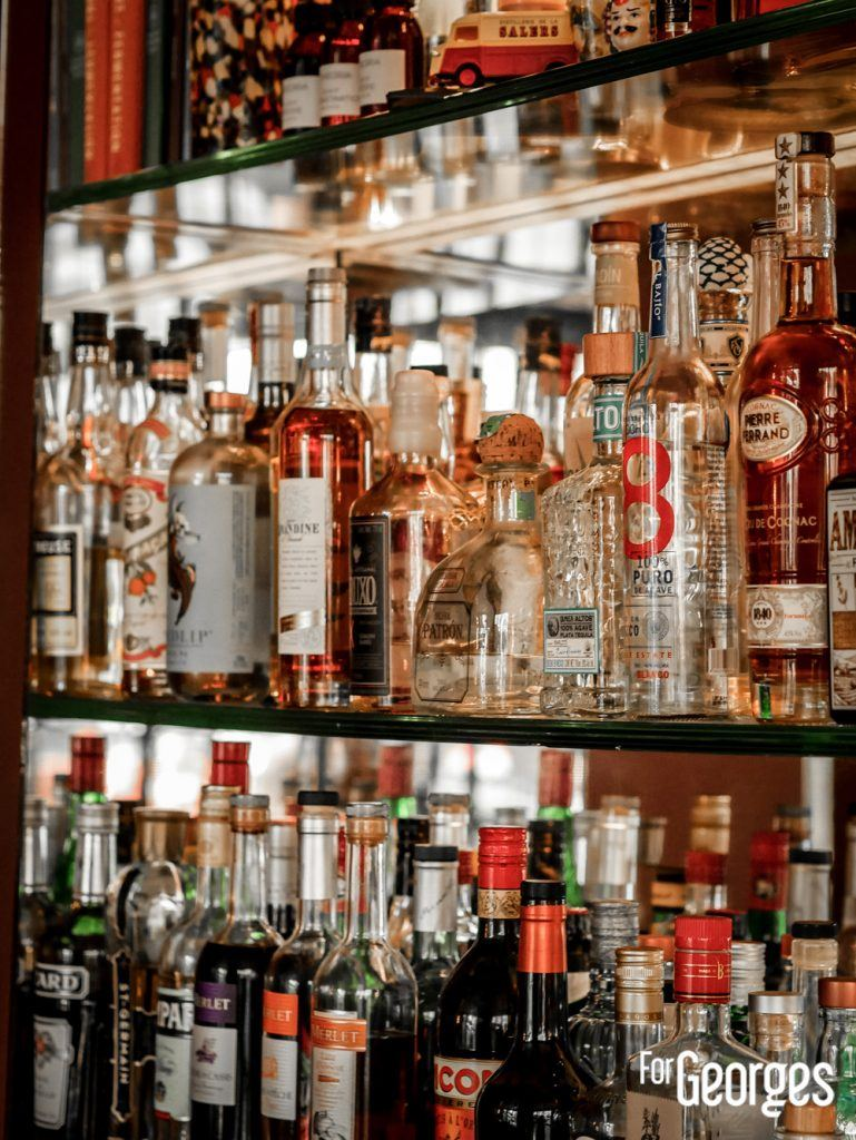 Backbar bar à cocktail Divine