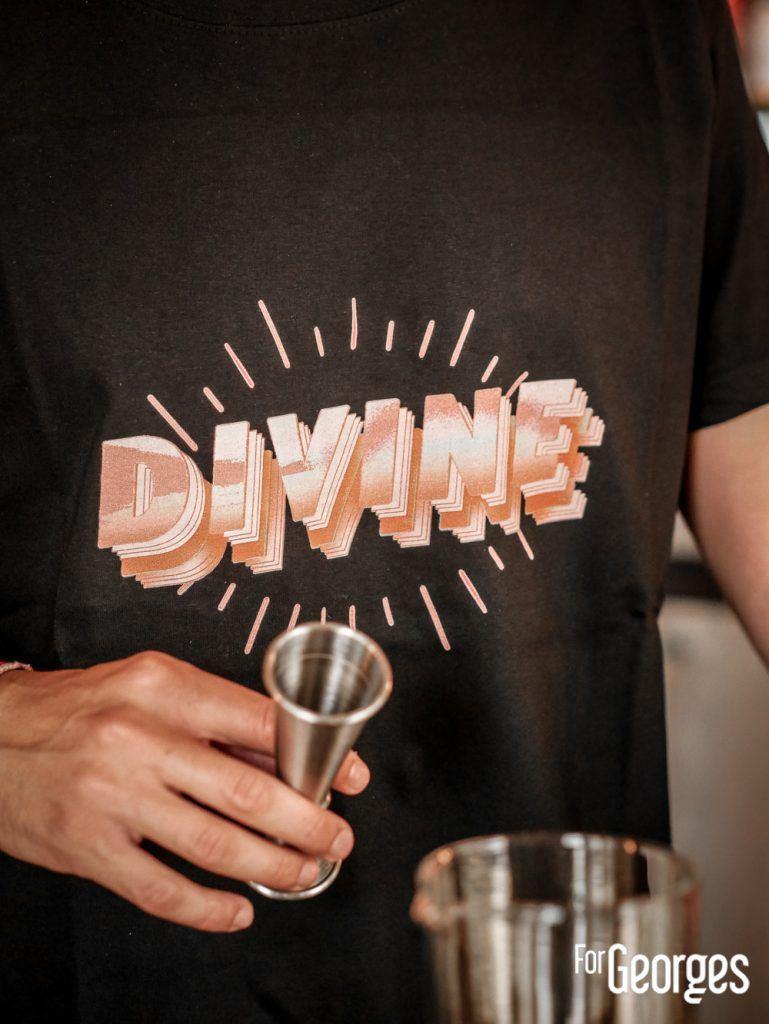 T-Shirt Divine Bar à cocktail