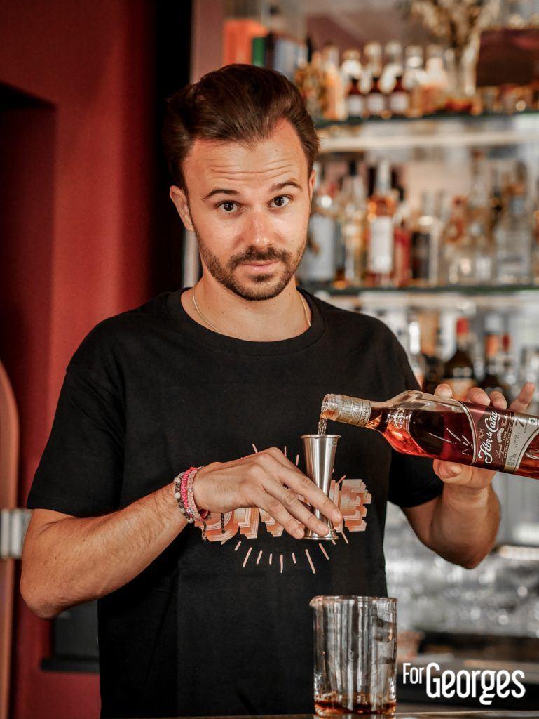 Nicolas Munoz Bar à cocktail Divine Paris