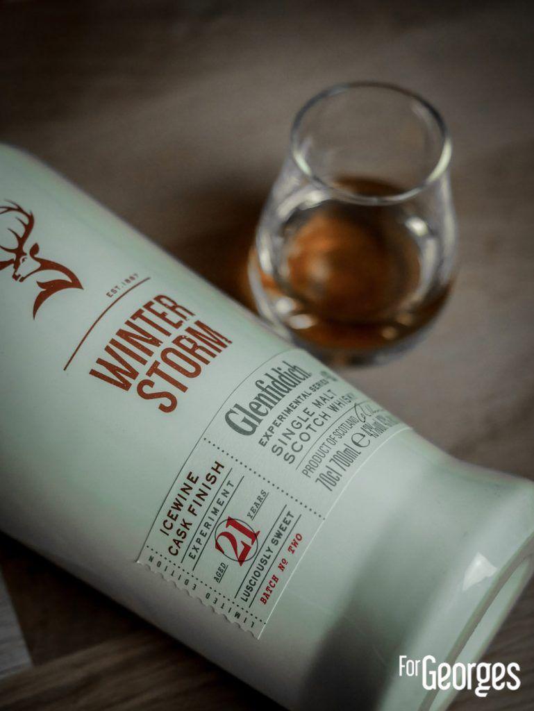 Coffret Experimental Series Glenfiddich Winter Storm whisky