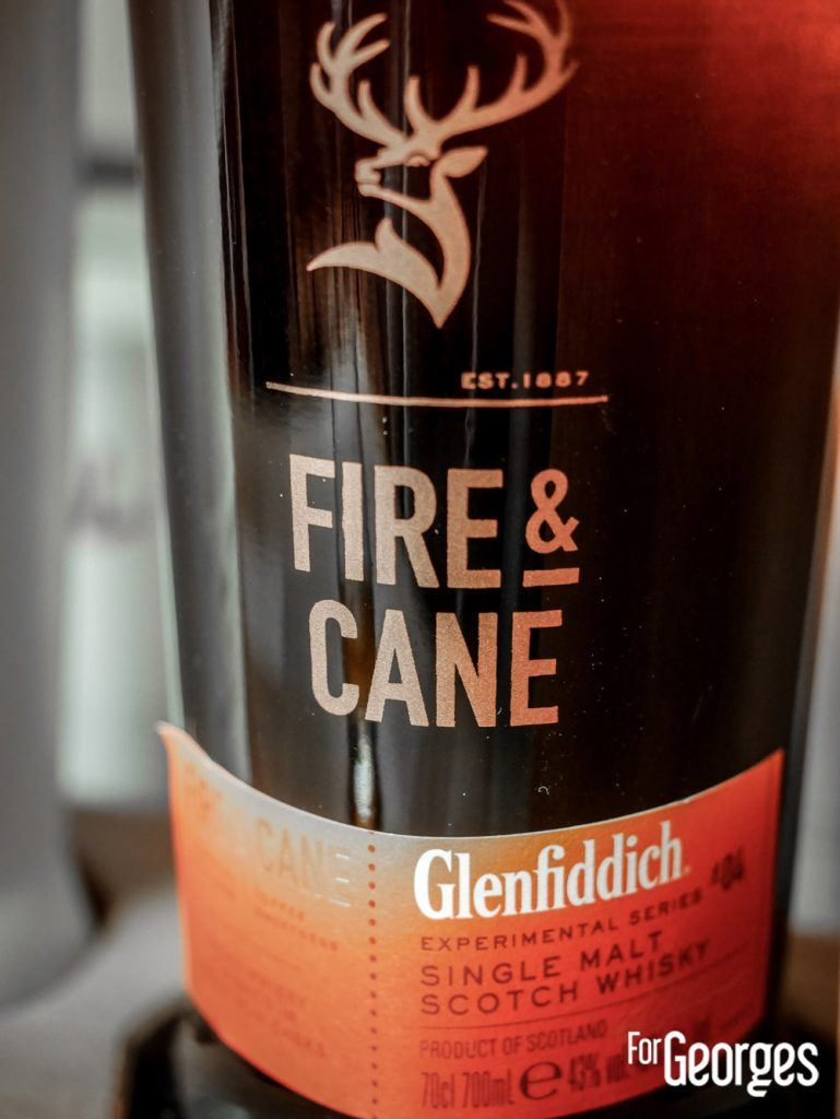 Coffret Experimental Series Glenfiddich Fire and Cane Whisky