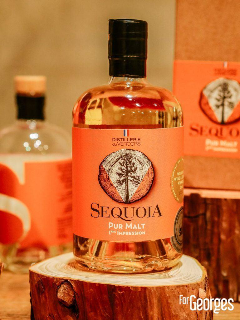 Sequoia Pure malt 1ere impression Distillerie du Vercors