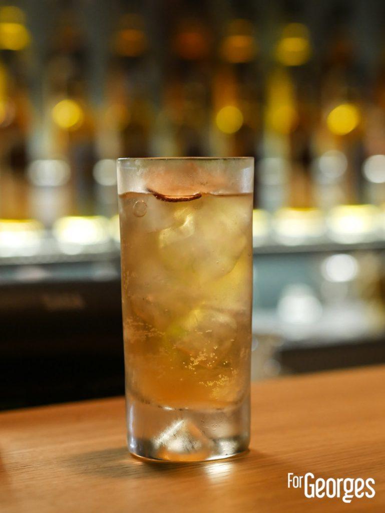 Cocktail Compass Box au Golden Promise