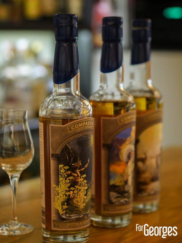 Compass Box : Myths and legends