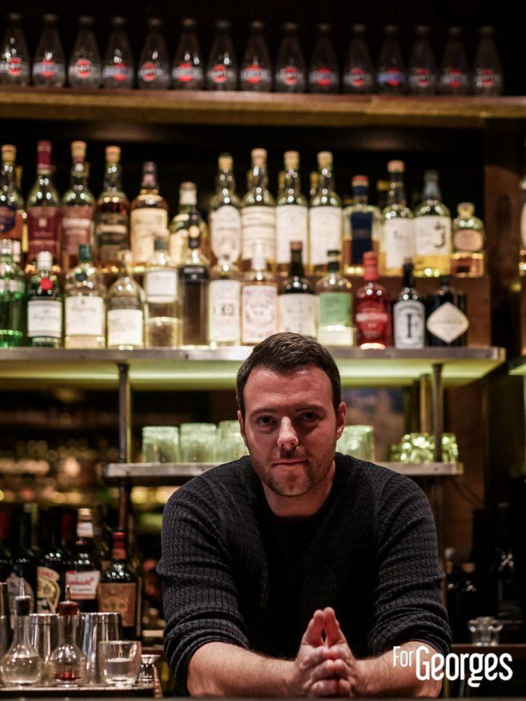 Marc Bonneton - Bar à cocktails l'Antiquaire Lyon
