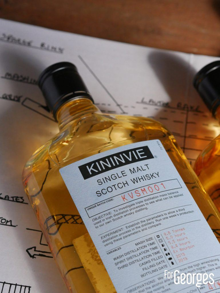 Kininvie Works Single malt Scotch whisky