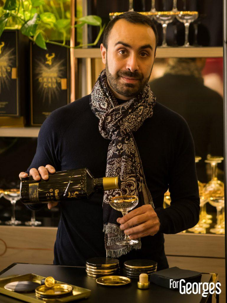 Jerome Kaftandjian Brand Ambassadeur Glenfiddich