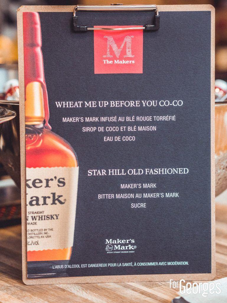 cocktail Maker's mark